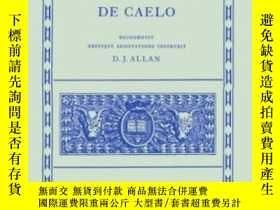 二手書博民逛書店De罕見Caelo (oxford Classical Texts)Y364682 Aristotle Cla