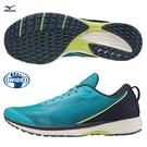 MIZUNO DUEL SONIC 男鞋 慢跑 路跑 3E寬楦 高反發 藍【運動世界】U1GD213625