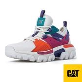【CAT】RAIDER SPORT 中性 卡特 月球車 運動休閒鞋『白/紫/橘』CA110063 多功能鞋.休閒鞋.露營.登山