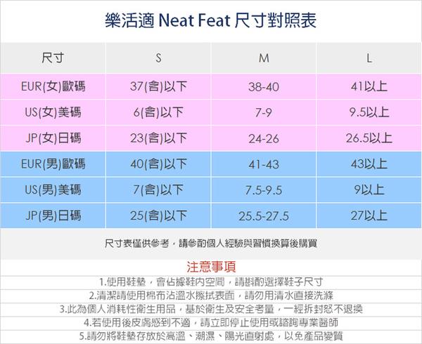 【Neat Feat 樂活適】正步平衡紓壓鞋墊 紐西蘭 原裝公司貨 男女可用
