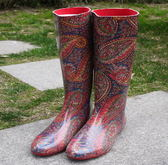 中筒雨靴-非凡防滑新款防水女雨鞋2色5s88【時尚巴黎】