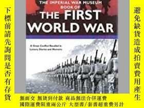 二手書博民逛書店The罕見Imperial War Museum Book of the First World War (dam
