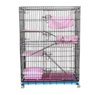 貓籠子折疊家用貓籠別墅小號二層貓籠三層特大號四層貓舍貓籠房子 店慶降價