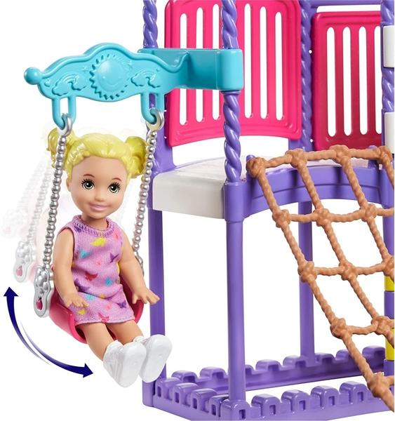 《 MATTEL 》芭比Skipper遊樂場遊戲組 / JOYBUS玩具百貨