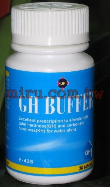 【西高地水族坊】雅柏UP GH BUFFER總硬度提升錠(30錠)