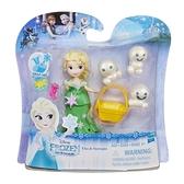 《 Disney 迪士尼 》Hasbro 艾莎公主及小雪寶組 / JOYBUS玩具百貨