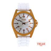 瑞士 TRUeE 瑞時寶嘉 TA150144 SPORT玫瑰金運動腕錶/42mm