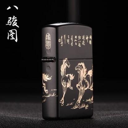 幸福居*中邦雙電弧脈沖usb充電打火機超薄金屬防風男電子點煙器創意禮品(單弧款)