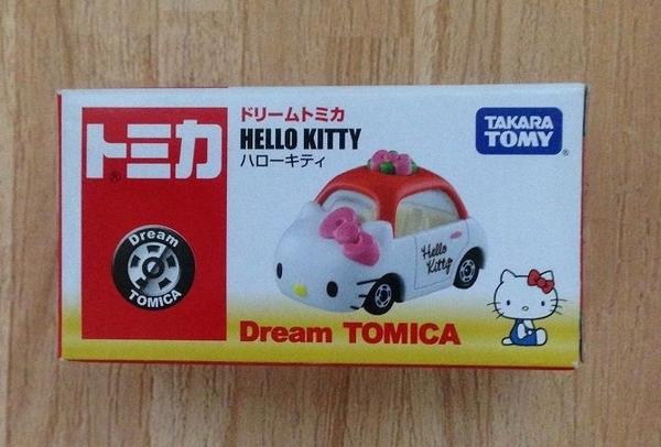 TOMICA 小汽車 夢幻 合金車 Hello Kitty 款  -超級BABY