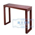 供佛台 木頭玄關臺現代簡約木頭門廳玄關柜沙發靠背桌條案條幾供桌玄關桌 麻吉部落