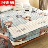 防水加厚夾棉床笠單件隔尿床罩床單防滑固定1.8m席夢思床墊保護套 雙十二購物節