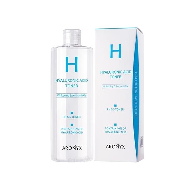 韓國 ARONYX PH5.5玻尿酸美白抗皺保濕化妝水(500ml)【小三美日】