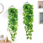 仿真植物假花藤條藤蔓綠植樹葉吊蘭