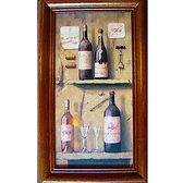 《Wine3》直式原木鑰匙盒keybox壁飾寬x高19x31cm厚度6.5cm