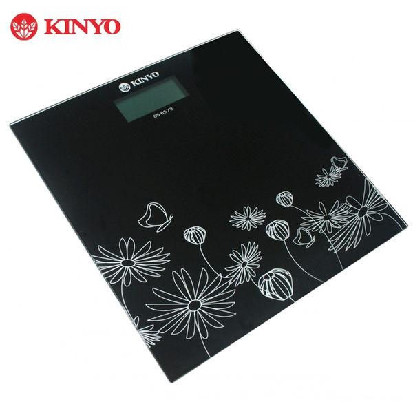 KINYO 花漾普普-電子式體重計