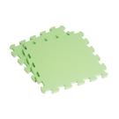 【新生活家】EVA素面巧拼地墊-果綠色32x32x1cm8入