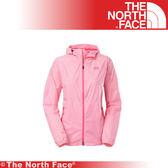 【The North Face 女 HV防水外套《 粉白》】A4R0-FN4/防潑水/透氣/耐磨/連帽外套★滿額送
