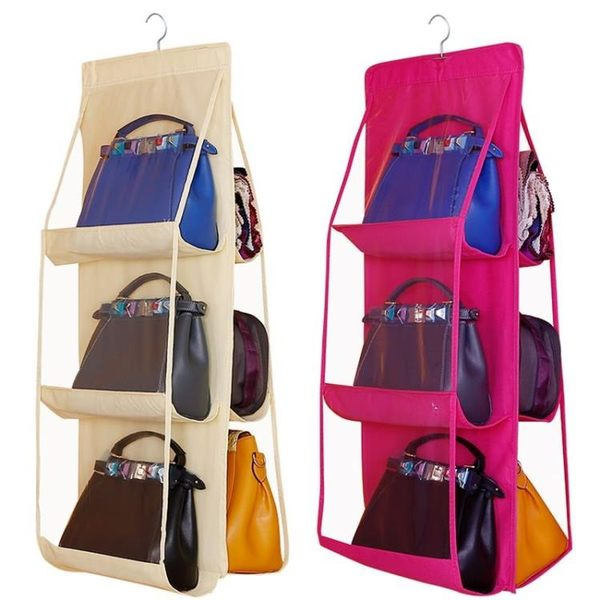 包包收納掛袋衣櫃透明布藝防塵袋墻掛家用整理懸掛收納架櫃盒神器【限時八八折】