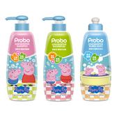 【快潔適】博寶兒護敏系列3入組 佩佩豬 洗髮露+沐浴露+泡泡浴