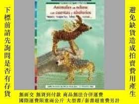 二手書博民逛書店Animales罕見en relieve con cuentas y abaloriosY405706 Ing