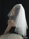 新娘頭紗新娘結婚領證紀念日旅拍禮盒裝小頭...