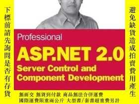 二手書博民逛書店Professional罕見Asp.net 2.0 Server Control And Component De