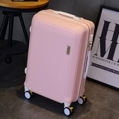 行李箱 可愛學生20寸旅行箱萬向輪24寸韓版拉桿箱密碼箱子