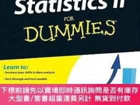 二手書博民逛書店預訂Statistics罕見Ii For DummiesY492923 Deborah Rumsey John
