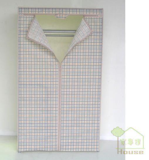 [ 家事達 ]鍍鉻衣架專用 防塵套 (90*45*高140cm) 特價