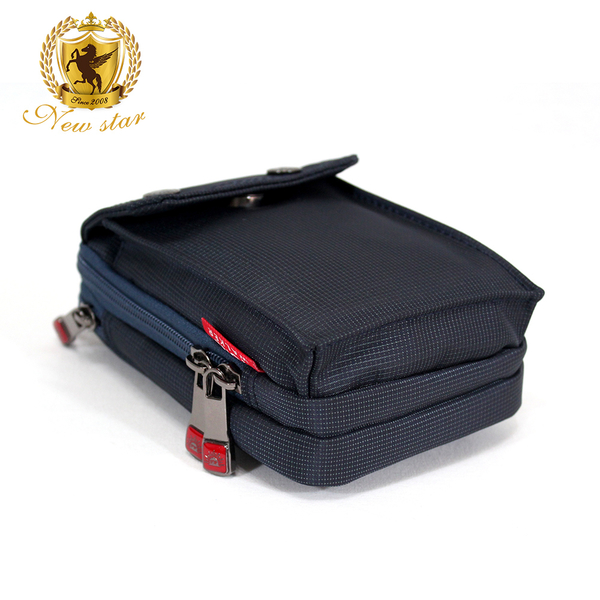 腰包 輕便素面迷彩雙層掛包側背包手機包包 NEW STAR BW33