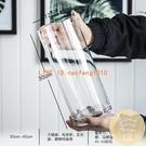 特大號花瓶簡約玻璃透明落地擺件客廳餐桌水竹富貴竹干花插花飾品【白嶼家居】