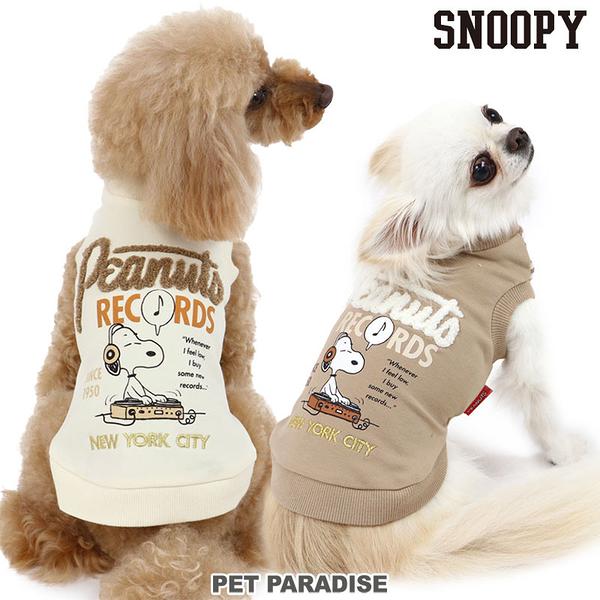 【PET PARADISE 寵物精品】SNOOPY 史奴比RECORDS上衣 2色(杏/棕色) (3S/DSS/SS/DS/S) 寵物衣服 親子裝