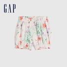 Gap嬰兒 布萊納系列 可愛純棉印花花苞褲 681776-淡粉印花