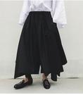 FINDSENSE 品牌 男士  暗黑系 新款大裙擺罕見秀款男士裙褲