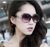 2018新款太陽鏡女潮偏光墨鏡女士圓臉款防紫外線眼鏡ys182『毛菇小象』
