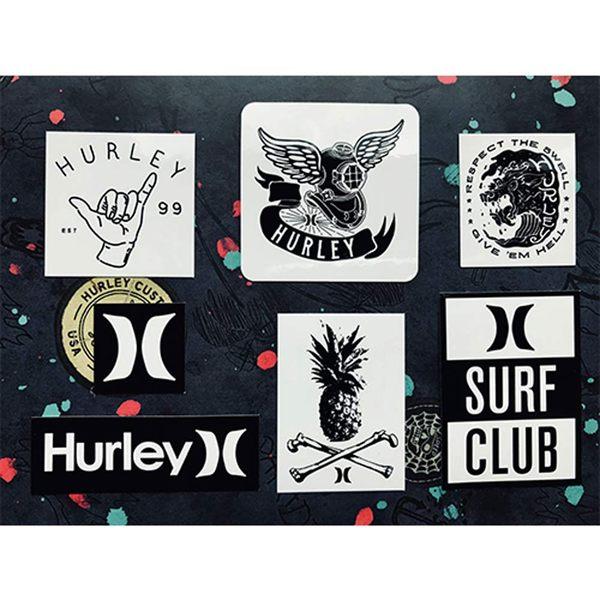 Hurley stickers 防潑水貼紙SK0020-(7款)小