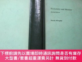 二手書博民逛書店Probability罕見and Measure second Edition概率與測度 (第二版)【英文版 小1