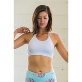 【南紡購物中心】【Flexi Lexi】White Amber bralette 運動內衣