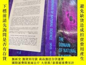 二手書博民逛書店THE罕見DOMAIN OF NATURAL SCIENCE 自