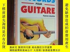 二手書博民逛書店1000罕見Accords Pour Guitare 吉它訓練
