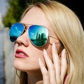 RayBan 太陽眼鏡 RB3025 11217 (金-水銀藍) 58mm 熱銷水銀鏡面款 # 金橘眼鏡