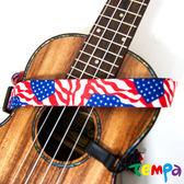 【Tempa】掛式烏克麗麗背帶-美國