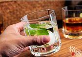 玻璃杯套裝家用6只裝耐熱玻璃水杯茶杯啤酒杯白酒杯果汁杯喝水杯