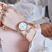 手錶女風學生簡約氣質機械女表防水女士時尚休閒石英防水女 【韓語空間】