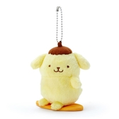 小禮堂 布丁狗 絨毛吊飾 玩偶吊飾 玩偶鑰匙圈 (黃 應援啦啦隊) 4550337-64567
