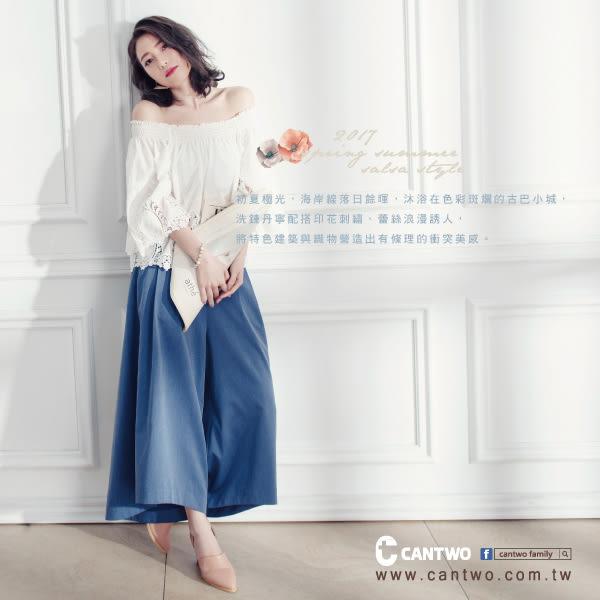 cantwo純色銀蔥蝴蝶結袖T(共三色)~網路獨家精選590