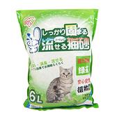 IRIS绿茶味豆腐猫砂6L