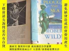二手書博民逛書店1961年,英文原版,罕見唯一,毛邊本小說,plough the