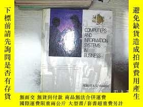 二手書博民逛書店COMPUTERS罕見AND INFORMATION SYSTEMS IN BUSINESS 商業中的計算機和信息