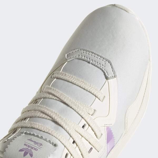 Adidas Originals Flex J [GZ0526] 大童鞋 運動 休閒 彈力 透氣 舒適 愛迪達 白 紫